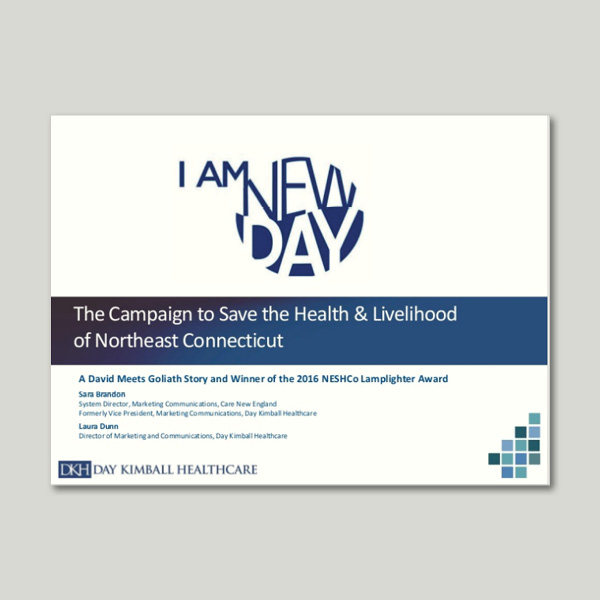 advocacy campaign | Day Kimball Healthcare