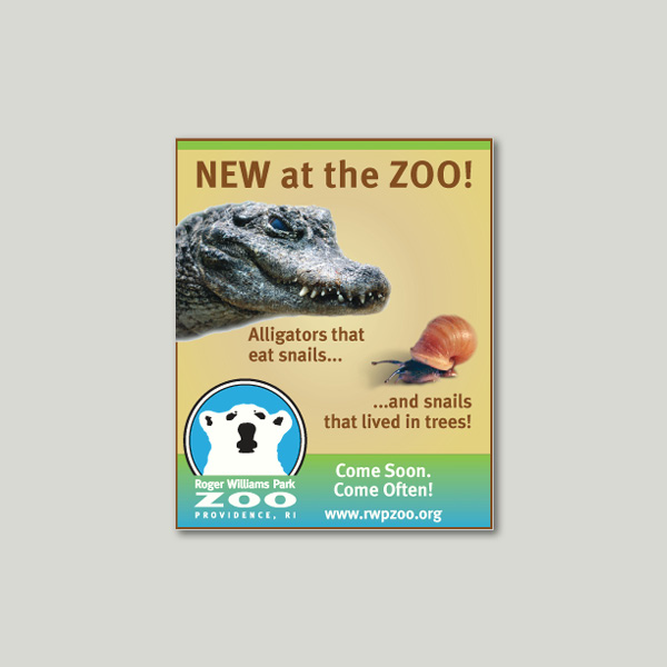 digital advertising | Roger Williams Park Zoo