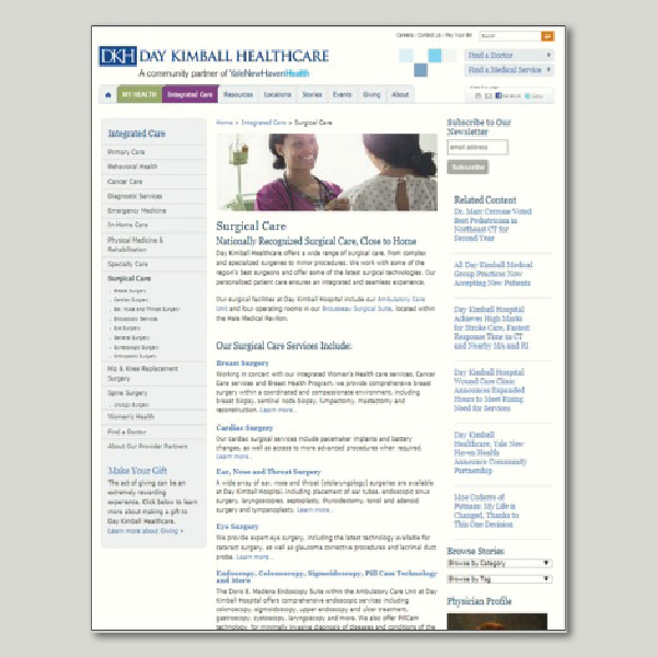 web | Day Kimball Healthcare